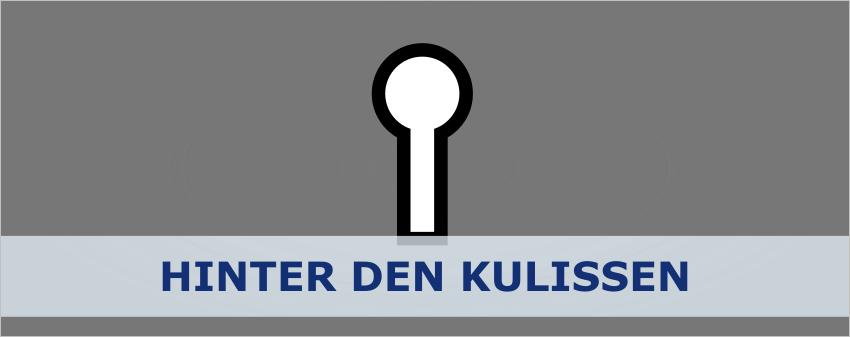 Hinter den Kulissen - titelbild
