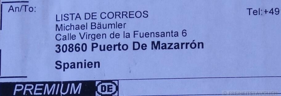 Die Spanische Post Liefert Auch An Wohnmobile Freiheitstauglich