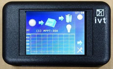 Fernbedienung für DSW Wechselrichter & MPPTplus Serie FB-04