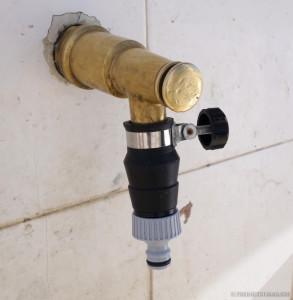 Wasserhahn ohne Gewinde
