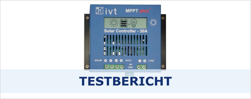 Solarladeregler MPPT 30A - Das Herzstück der Solaranlage