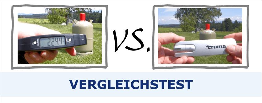 Gasflasche Füllstand messen: Handwaage vs. Truma LevelCheck
