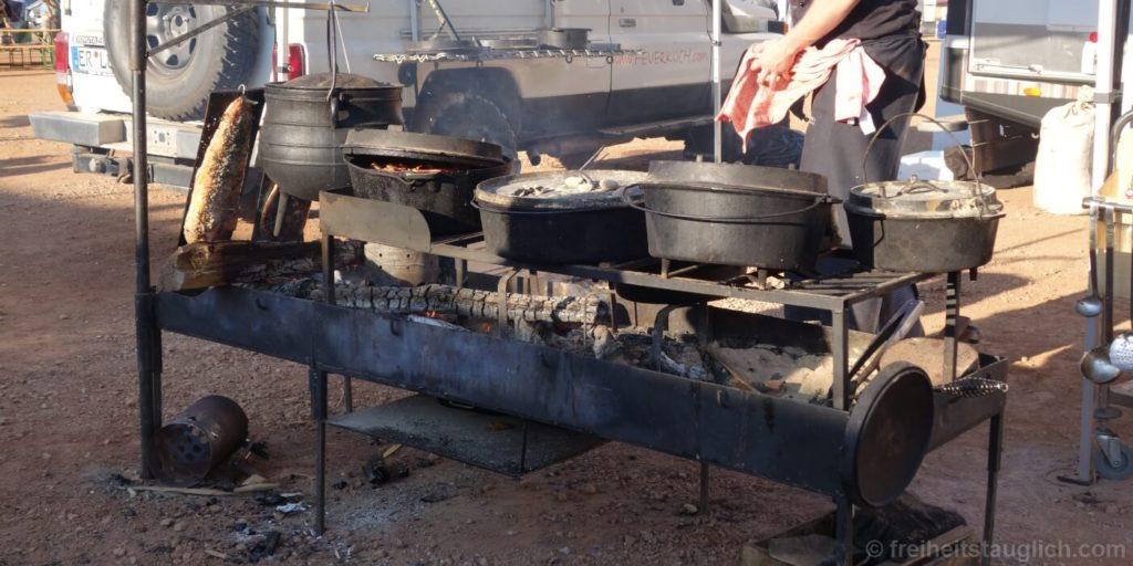 Feuerkoch beim OTA Globetrotter Rodeo