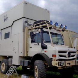 Abenteuer Allrad - Unimog mit Hubdach