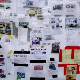 Abenteuer Allrad - Verkaufsanzeigen schwarzes Brett