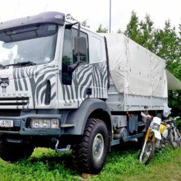 Abenteuer Allrad - Zebra-Iveco