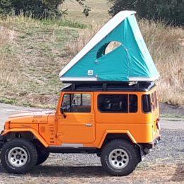 Buschtaxi-Treffen - Toyota kompakt