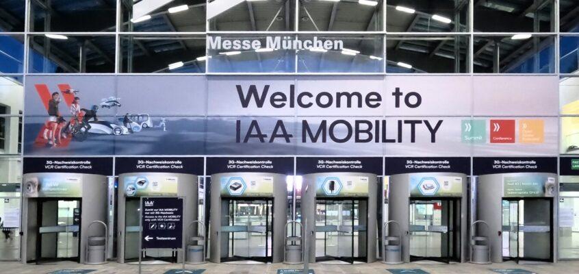 """IAA Mobility 2021 – Wo """"fährt"""" die Zukunft der Mobilität hin?"""