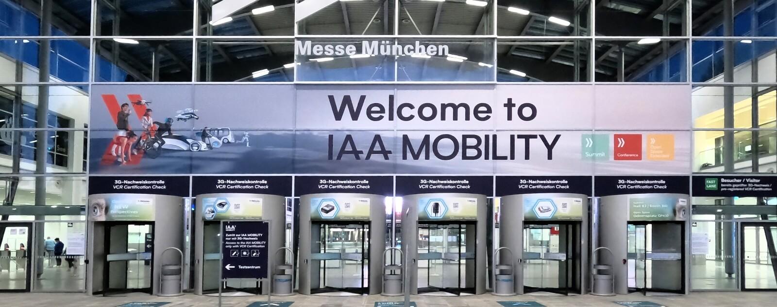 """IAA Mobility 2021 - Wo """"fährt"""" die Zukunft der Mobilität hin?"""